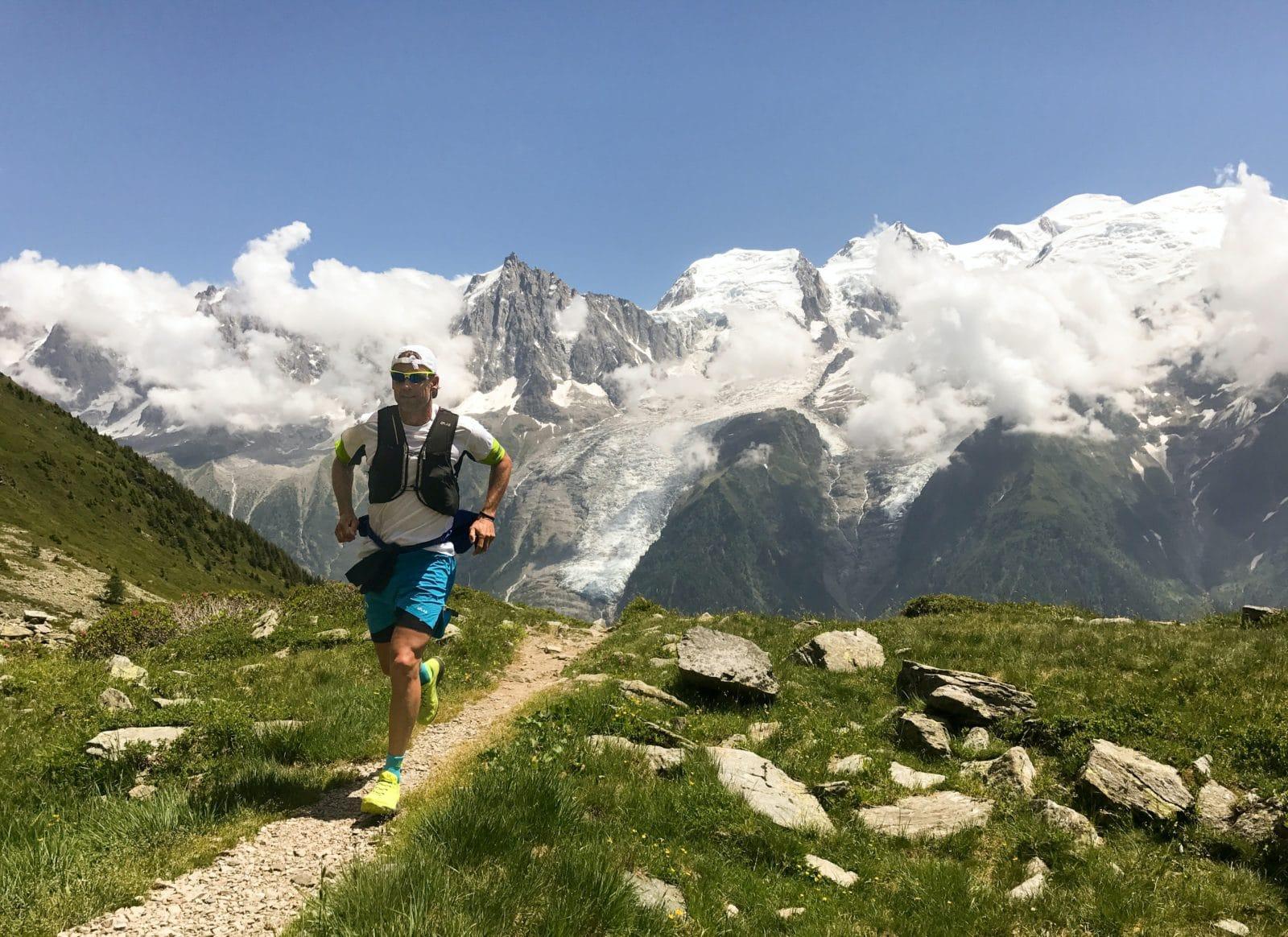 coureur en montagne
